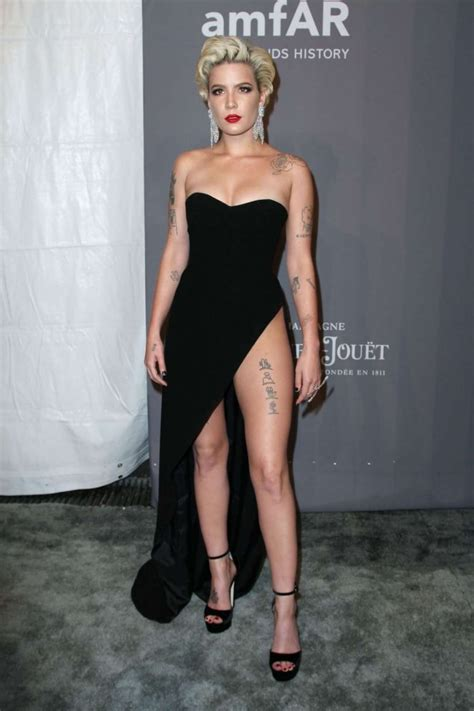 halsey 2018 amfar gala in new york
