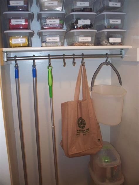 How To Install Closet by Install A Closet Rod And Put Shower Curtain Hooks On It To