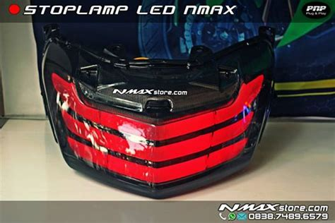 Led Nmax stoplaight stopl led pnp nmax ocito nmax sparepart accessories