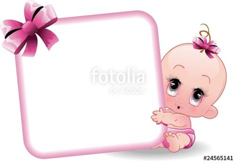 clipart nascita quot neonato femmina baby 2 vector quot immagini e vettoriali