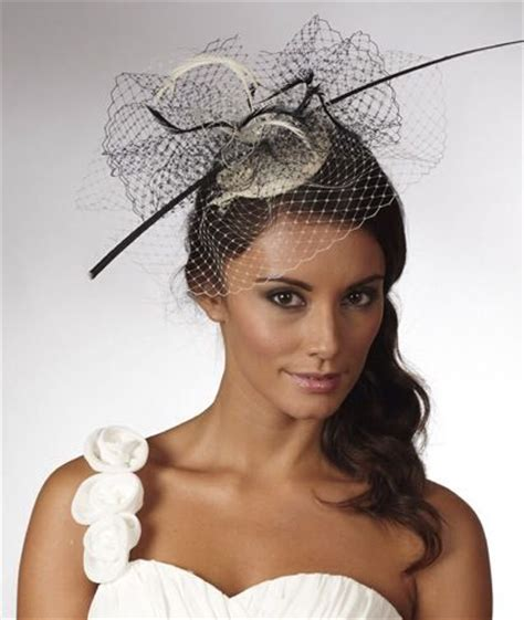 Hairstyles For Hats And Fascinators by Fascinators Race Day Hairstyles