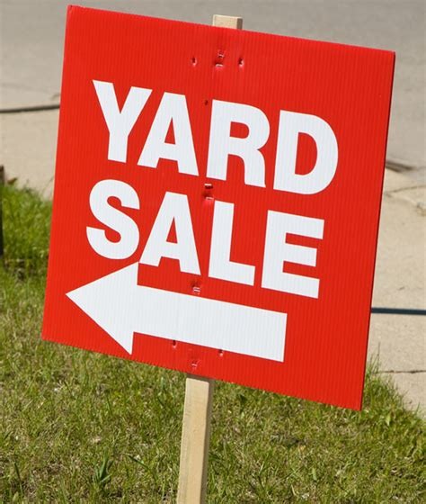 garage sale tips how to sell your junk green living