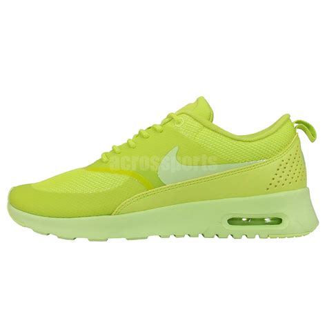 Sepatu Nike Airmax Thea Import Running Casual womens wmns nike air max thea cyber lime green 2015 running casual shoes trainer ebay