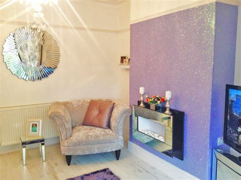 glitter wallpaper feature wall inspiration design blog the best wallpaper place