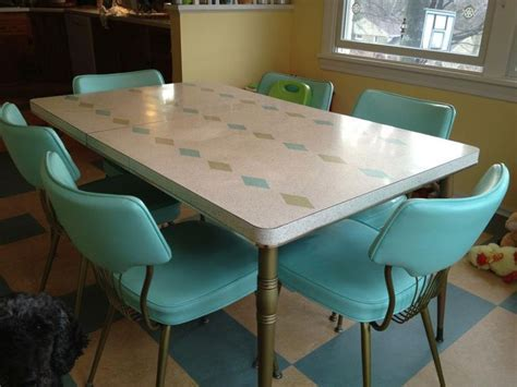 turquoise dining set   Retro kitchen of the future