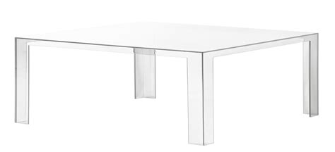 Invisible Low Coffee Table H 31 Cm Crystal By Kartell Kartell Coffee Table