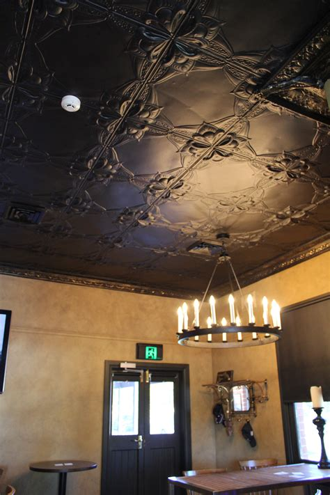 pressed tin ceiling willow tree inn time to remodel