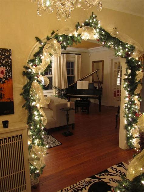 how to decorate house for christmas 31 gorgeous indoor d 233 cor ideas with christmas lights