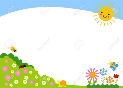 background clipart garden clipart background pencil and in color