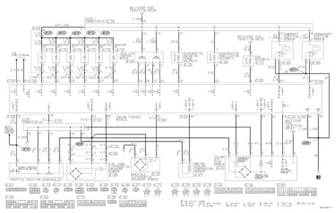 mitsubishi pajero electrical wiring diagram diagrams 2001
