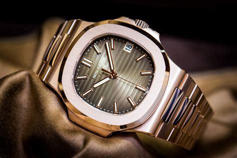 Patek Philipe Nautilus Rosgold Clone 11 patek philippe nautilus 57111r is gold allowed best swiss breitling replica watches show