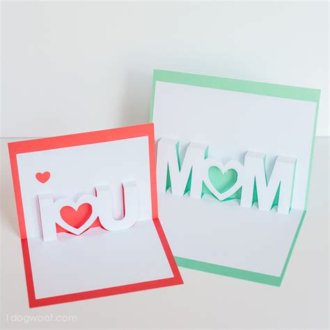 mothers day pop up card templates 10 awesome handmade card tutorials for s day