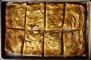 apple mosaic tart with salted caramel smitten kitchen