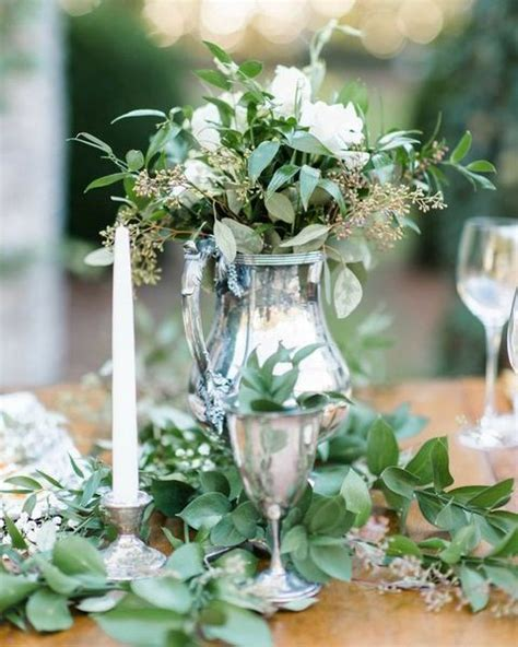 60 Fresh Greenery Details For Spring Weddings   HappyWedd.com