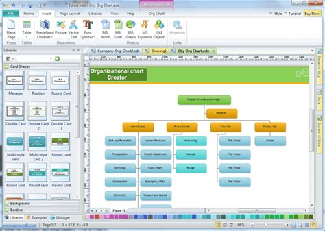 easy organizational chart maker easy organizational chart creator