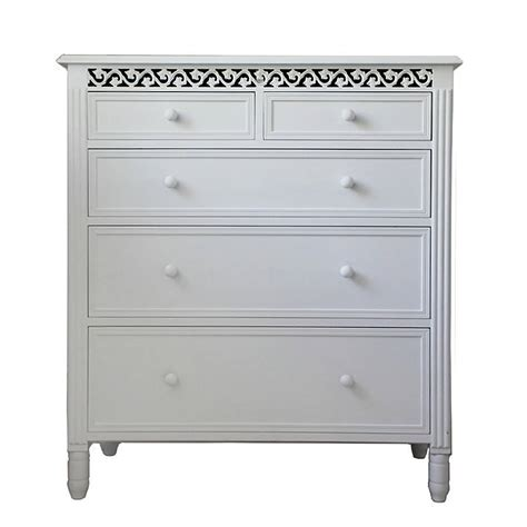 Chest Of Drawers White by Large Fretwork Chest Of Drawers By Out There Interiors