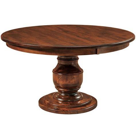 burlington dining table burlington single pedestal dining table buy custom amish furniture amish furniture for sale