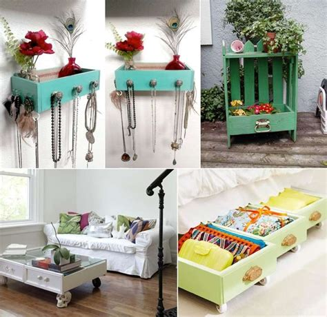 ideas  recycle  reuse  drawers
