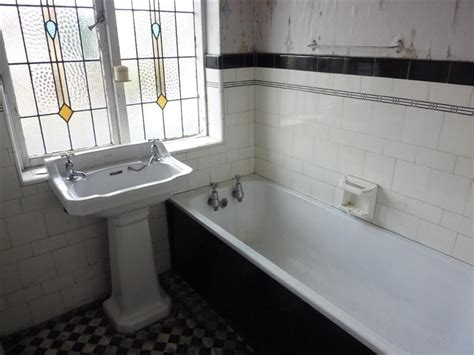 this is the original bathroom from a 1930 s semi detached