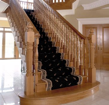 Banister Parts London Amp Uk Traditional Staircases Traditional Oak