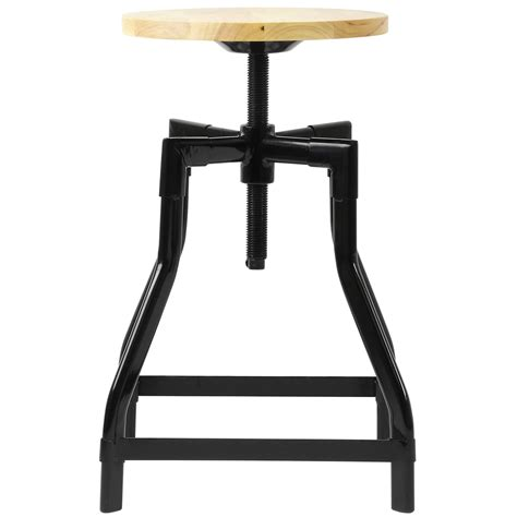 adjustable table height stools hartleys low retro swivel bar table stool with