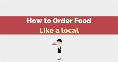 out in the ultimate guide to ordering food