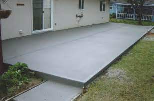 Cement Patio Design by Plain Concrete Patio Home Design Scrappy