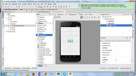 tutorial android xml android button exle javatutorial blog android tutorial