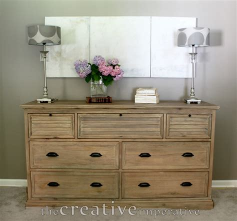 the creative imperative how to style a dresser with