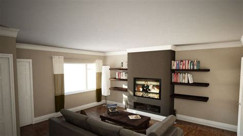 Decorating Ideas For Living Room With Chimney Breast Exle Of How The Faux Chimney Breast Should Look Tv
