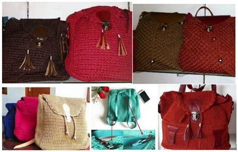 Tas Rajut Nilon Webe Marun kenali 19 model model tas rajut sebelum membelinya