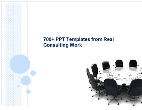 700 high quality top tier consulting ppt templates