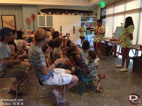 ukulele lessons at aulani guest report disneyaulani day 1 arrivial and 1st