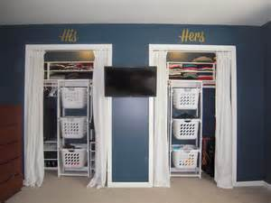 Laundry Hers White His Hers Closet Laundry Basket Dressers Diy Projects