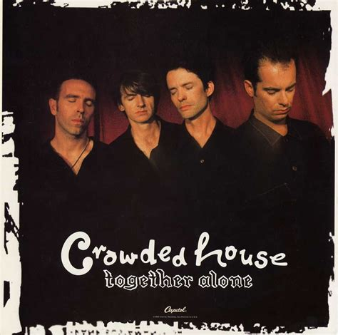 crowded house either side of the world together alone usa promo display flat kia kaha
