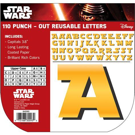 sta lettere wars deco letters eureka school
