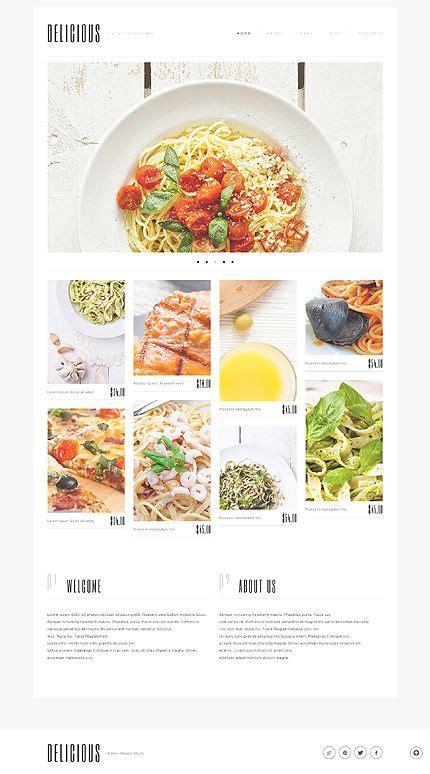 design menu wordpress 17 best images about restaurant website on pinterest