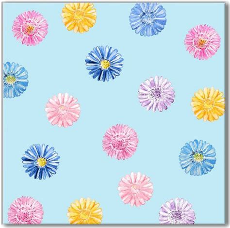 flower pattern wall tiles blue daisy pattern ceramic wall tile