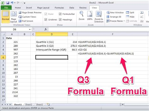 Credit Score Formula Excel How To Use The Outliers Function In Excel Techwalla