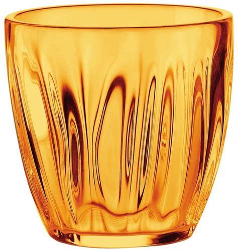 guzzini bicchieri guzzini bicchiere acqua arancio bicchieri