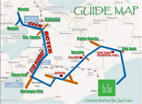 map of resort in laiya batangas la luz resort laiya rates badudets everything