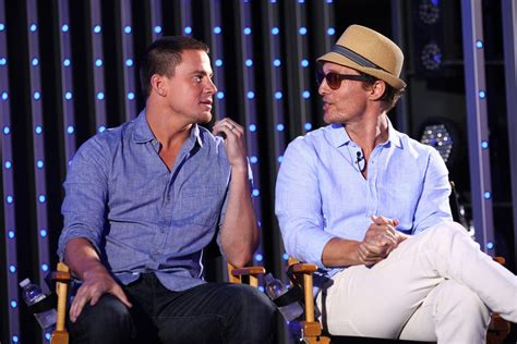 channing tatum matthew mcconaughey matt channing tatum and matthew mcconaughey magic mike pictures