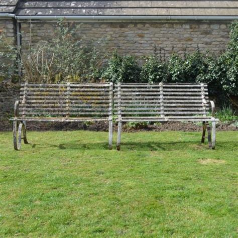 wrought iron garden benches sale pair of 19th century wrought iron garden benches 335042