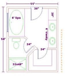 Bathroom design 11x14 size free 11x14 master bathroom floor plan with