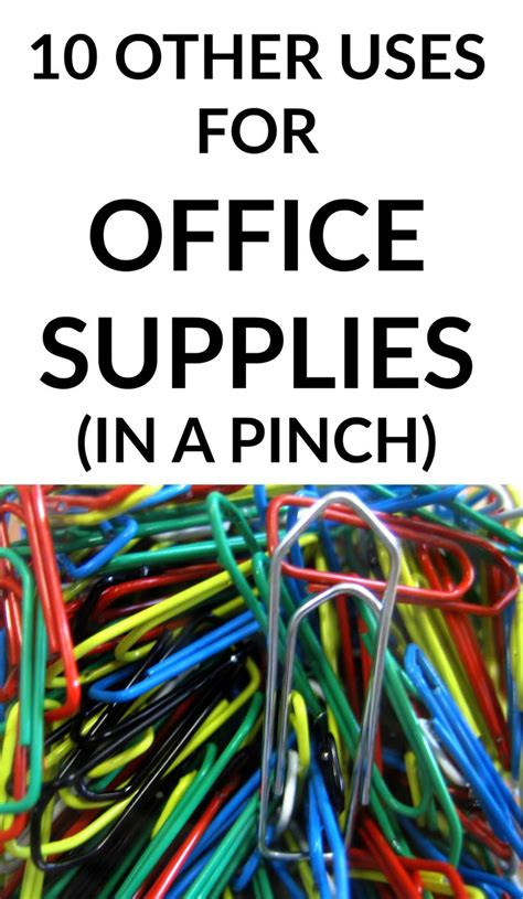 office supplies needed ten uses for office supplies in a pinch need to offices