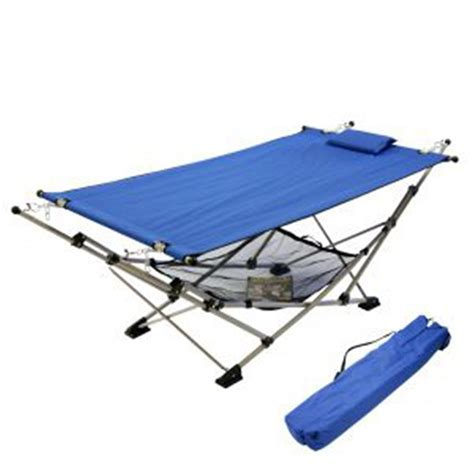 Castlecreek Patio Furniture Algoma Folding Hammock And Stand 180741 Patio