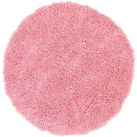 Area Rug Pink Safavieh Classic Shag Ultra Pink 8 Ft X 8 Ft Area Rug Sg240p 8r The Home Depot