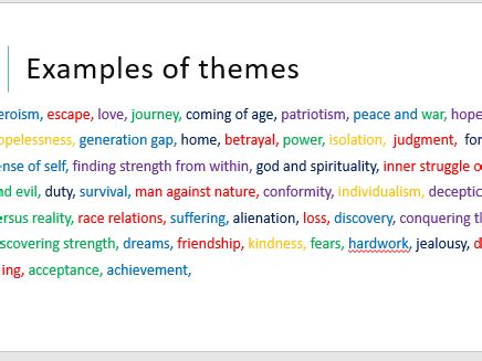 ks2 themes and conventions 5 comprehension lessons on identifying themes when reading