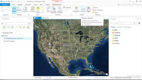 arcgis interface tutorial the new ribbon interface