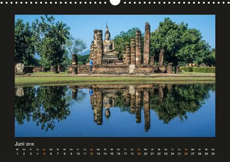 Calendar 2018 Temple Kalender Thailand Traumstr 228 Nde Und Tempel 2018